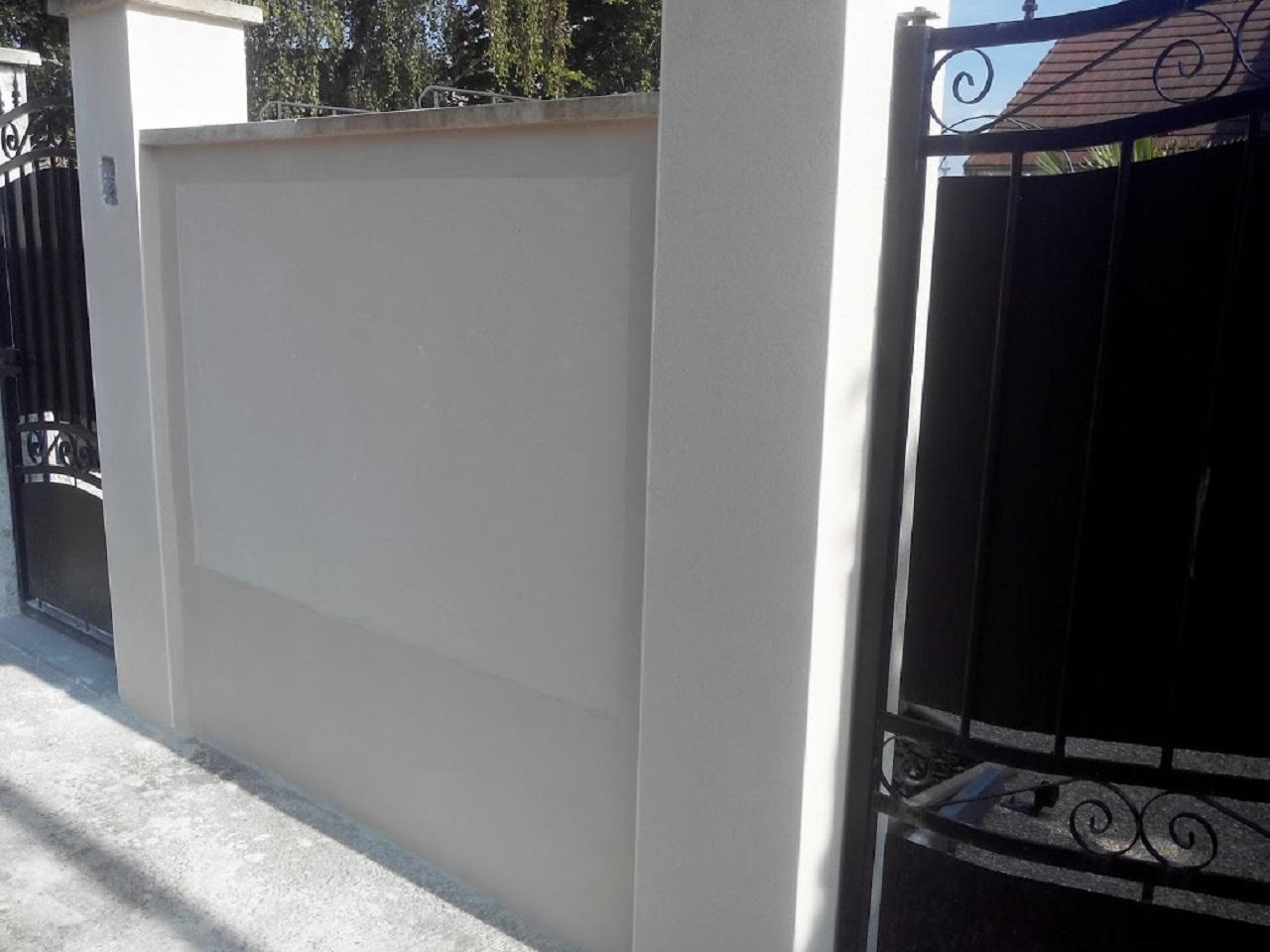 Habillage D Un Mur De Cloture coffrage d'escalier béton bâtiment avant rénovation coffrage